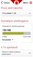 Screenshot of Mobil Vodafone