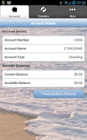 Screenshot of Oregon Coast Bank Mobile
