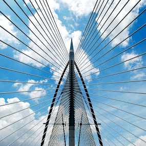 bridge line by Woo Yuen Foo - Buildings & Architecture Architectural Detail (  )