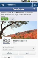 Screenshot of Home Source Utah