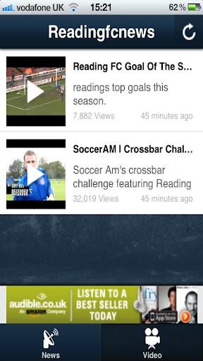 Reading FC News APP