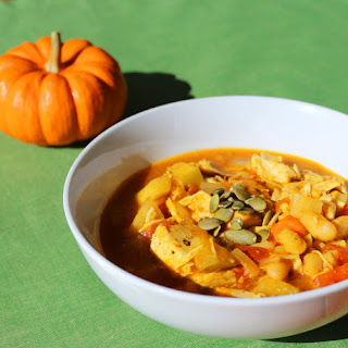 Curried Pumpkin Chicken Chili