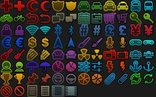 Screenshot of BL Essentials Icon Pack