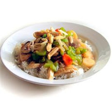 Almond Turkey Stir-Fry