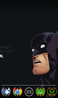 Screenshot of Batman icon pack Apex Nova ADW