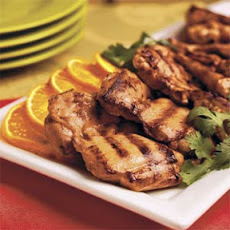 Orange-Ginger Grilled Chicken Thighs
