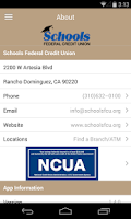 Screenshot of Schools Federal Credit Union