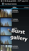 Screenshot of Fast Burst Camera Lite