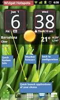 Screenshot of Flip Clock xTheme Widget 4x2