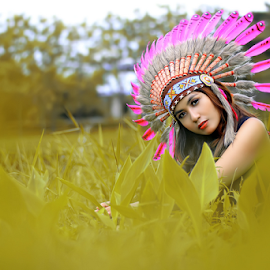 Indian Girl by Septyadhi  Gunawan - People Fashion