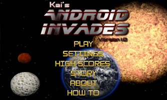 Screenshot of Android Invades