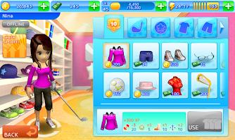 Screenshot of Let's Golf! 3