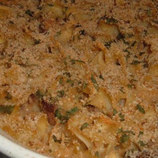 Easy Beef and Noodle Casserole