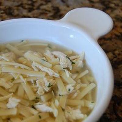 Super Easy Chicken Noodle Soup