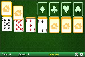Screenshot of Klondike Solitaire