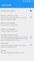 Screenshot of Commandr for Google Now