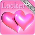 Hearts pink Go Locker theme