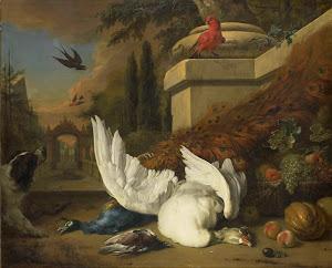 RIJKS: Jan Weenix: painting 1700