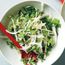 Cabbage and Parsley Slaw with Capers