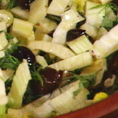 Fennel and Olive Salad---Insalata di Finocchio Ed Olive