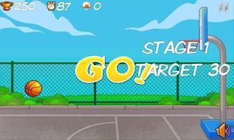 Screenshot of Popu BasketBall