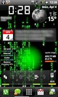 Screenshot of Live Wallpaper of Matrix