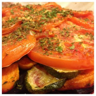 Roasted Vegetable Torte