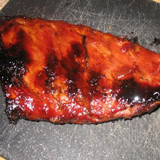 Oven-Baked Sweet and Sticky Pork Back Ribs