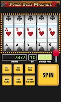 Screenshot of Poker Slot Machine