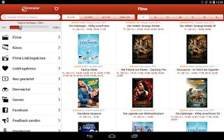 Screenshot of kinoradar - Kino, Filme & mehr