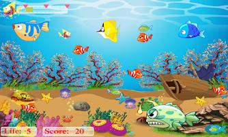 Screenshot of Flappy & Hungry Fish Pro II