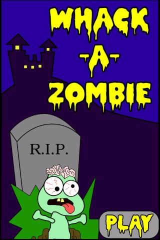 whack-a-zombie for android screenshot