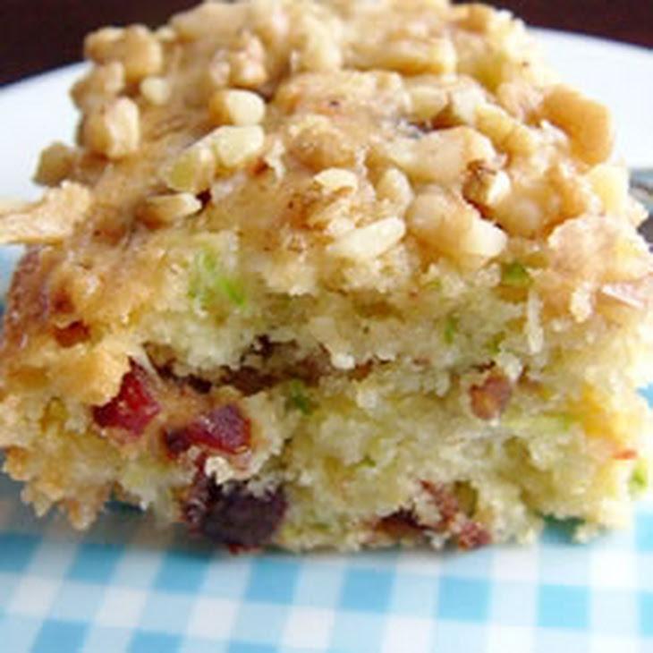 Zucchini-Coconut Cookie Bars Recipe | Yummly