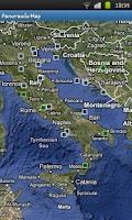 Screenshot of Panoramio Map