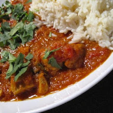 Slow Cooked Madras Chicken Curry (Crock Pot)