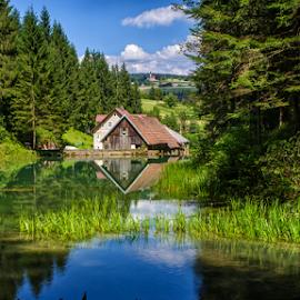 Cogrlje lake by Stanislav Horacek - Landscapes Waterscapes