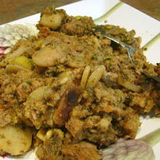 Sausage Water Chestnut Dressing/Stuffing