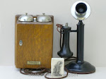 Candlestick Phones - WE 20S Candlestick Telephone Bielitz Lock
