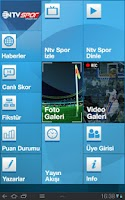 Screenshot of NTVSpor.net Tablet