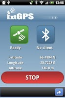 Screenshot of ExtGPS