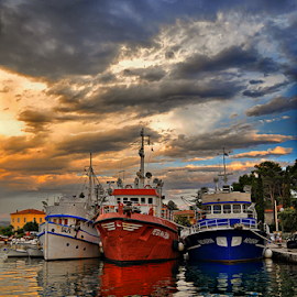 Ready to work! by Manuela Dedić - Transportation Boats