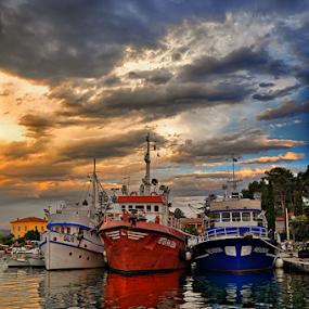 Ready to work! by Manuela Dedić - Transportation Boats (  )