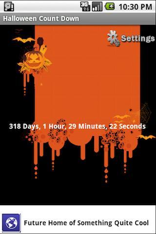 Free Halloween Countdown