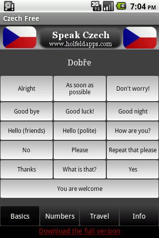 Speak Czech Free