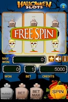 Screenshot of Halloween Slots