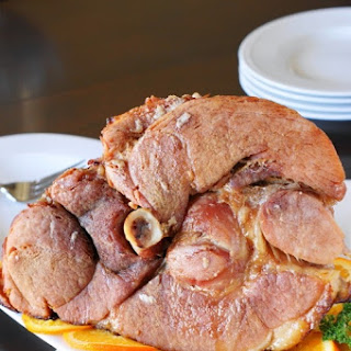 Baked Ham with Brown Sugar Glaze