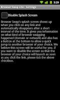 Screenshot of Browser Swap Lite