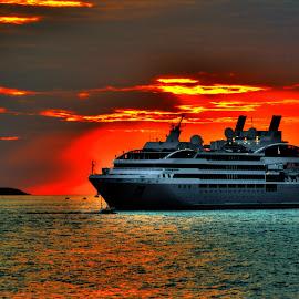 Le Soleal Cruise Ship  by overU Vigilans - Transportation Boats