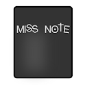 Miss Note icon