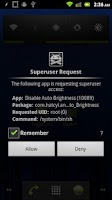 Screenshot of Disable Auto Brightness Xperia
